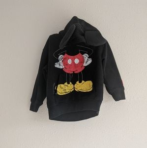 Mickey Mouse Hoodie With Ears